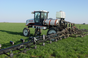 Sensor-based Nitrogen Application